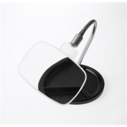 Coil 1.7x Fleximag Stand Magnifier, Spherical Lens, Flexible Base