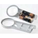 Coil 5x LED Illuminated Hand Magnifier - Bi Aspheric Lens
