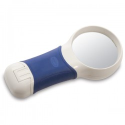 Coil 5x Auto Touch LED Illuminated Hand Magnifier - Bi Aspheric Lens