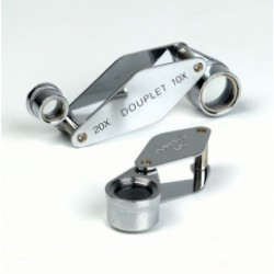 Jewellers Loupe Double Lens Magnifier