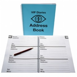 A4 Address Book - Large Print