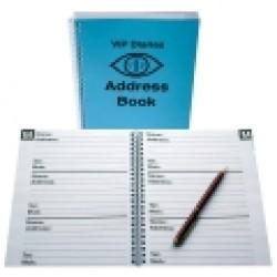 A5 Address Book - Large Print