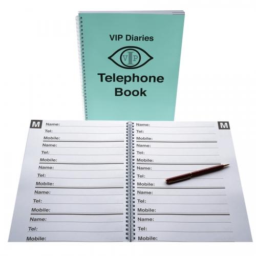 Telephone Book Large Print A4