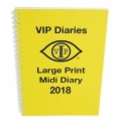 A5 Midi Diary 2019 - Large Print