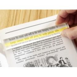 2x Bar Magnifier 200mm - line guide