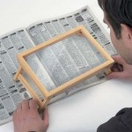 Folding Wooden Stand Magnifier