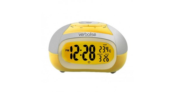 Penguin Talking Alarm Clock Different Sounds Snooze Hourly Chime Kids Wake Up