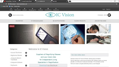 IC Vision new website